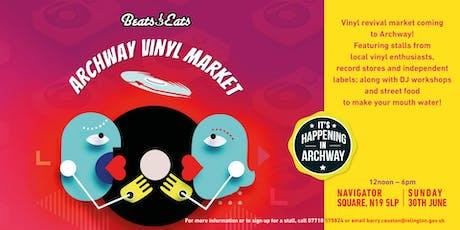 Beats & Eats - Archway Vinyl Market tickets