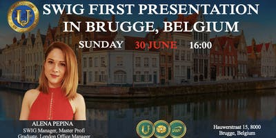 SWIG PRESENTATION IN BRUGGE, BELGIUM