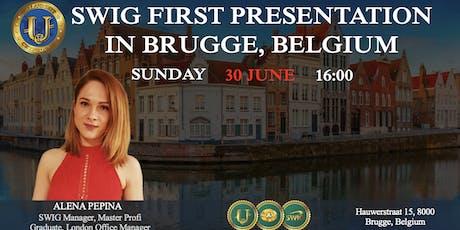 SWIG PRESENTATION IN BRUGGE, BELGIUM tickets
