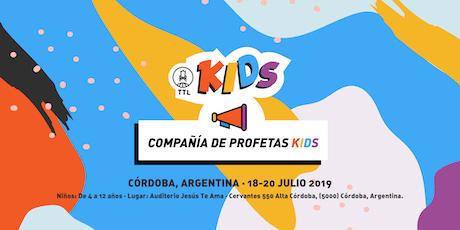 COMPAÑIA DE PROFETAS KIDS (LEVEL 3) entradas