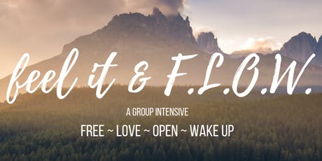 Feel it and FLOW Intensive tickets