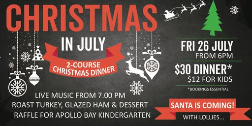 Christmas in July celebration at the Brewhouse