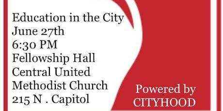 Education in the City tickets