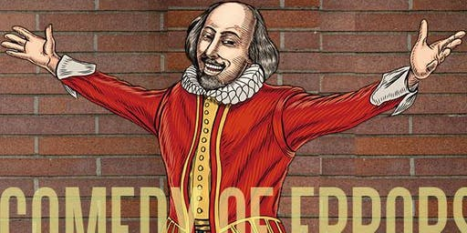 The Comedy of Errors @ the Westside Shakespeare Festival - Saturday, June 29 at 7:30pm