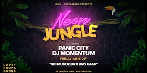 NEON JUNGLE PARTY | FREE GUEST LIST