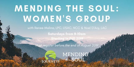 Professional Mending the Soul - Women's Group  tickets