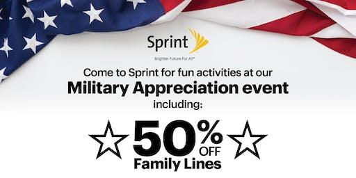 Military Appreciation Event at Sprint!
