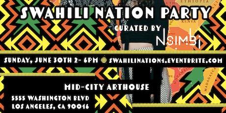 Swahili Nation tickets