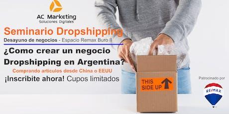 Curso ¿Como hacer Dropshipping desde Argentina? entradas