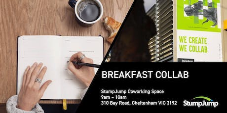 Breakfast Collab : this week meet Australia's largest startup community leader tickets