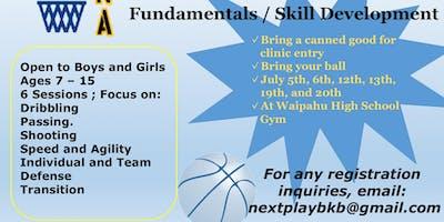 Waipahu Community Basketball Clinic Summer