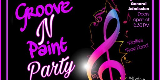 Groove N Paint Party w/ DJ ALLURE