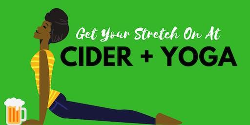 Cider & Yoga