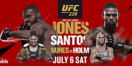 UFC 239 - JONES VS. SANTOS tickets