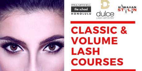 Advanced Volume Lash Extension Course tickets