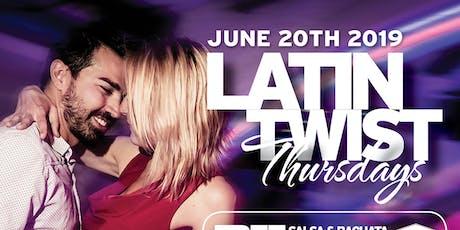 Latin Twist Thursdays tickets