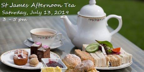 St. James Afternoon Tea tickets