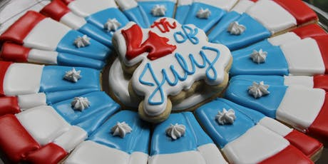 4th of July cookie decorating class tickets
