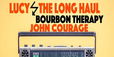 Bourbon Therapy, Lucy and the Long Haul, John Courage @ The Starry Plough Pub tickets