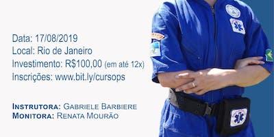 CURSO TEÓRICO-PRÁTICO DE PRIMEIROS SOCORROS