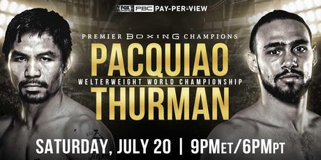 MANNY PACQUIAO vs. KEITH THURMAN tickets