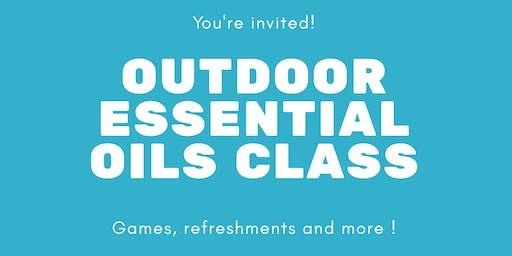 Outdoor Essential Oils Class