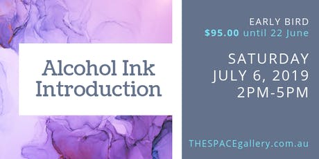 Introduction to Alcohol Ink - July 2019 tickets
