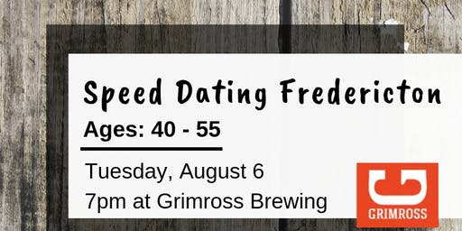 Speed Dating Fredericton - Ages: 40 - 55