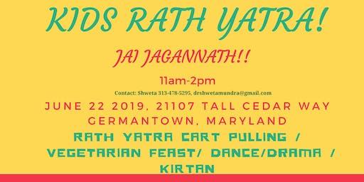 Childrens' Jagannath Rath Yatra Festival