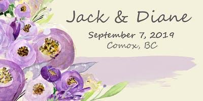 Celebrating the Marriage of Jack Boersma and Diane Urquhart