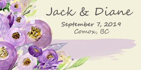 Celebrating the Marriage of Jack Boersma and Diane Urquhart tickets