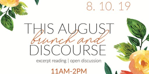 This August Coming Out of the Blind Spot Brunch & Discourse