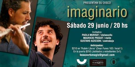 """""""Imaginario"""", un viaje musical por paisajes exoticos entradas"""