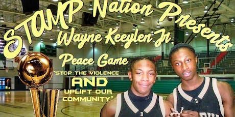 "Wayne Keeylen Jr. ""Stop the Violence"" Peace Game tickets"