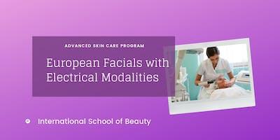 European Facials with Electrical Modalities