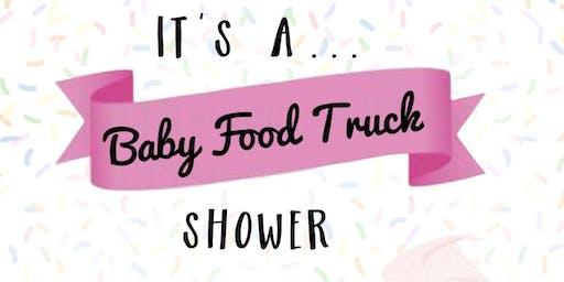 Kitty Bunny Bakery Baby Food Truck Shower