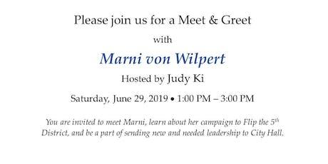 Meet & Greet Marni von Wilpert tickets