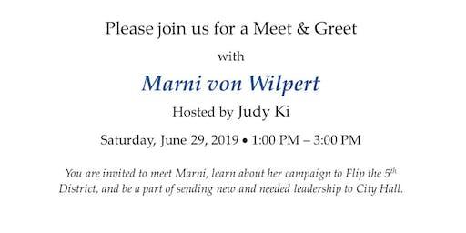 Meet & Greet Marni von Wilpert