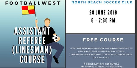 Assistant Referee Course @ North Beach SC tickets