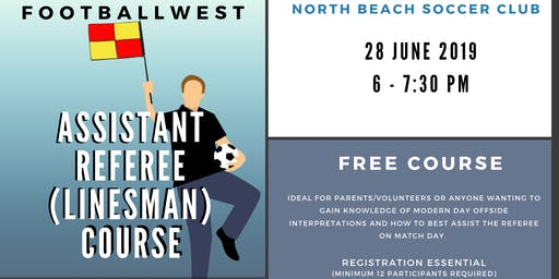 Assistant Referee Course @ North Beach SC