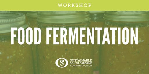 Food Fermentation Workshop: Salsa and Sauerkraut
