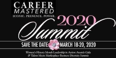 Career Mastered 2020 Business Diversity Summit & Women's Leadership Awards