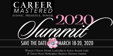 Career Mastered 2020 Business Diversity Summit & Women's Leadership Awards tickets
