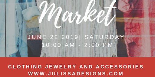 Julissadesigns at the Danbury Farmer's Market Opening Day