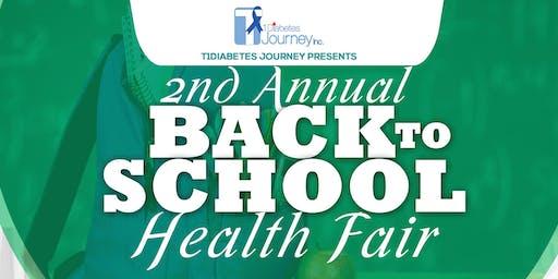 2nd Annual Back to School Health Fair