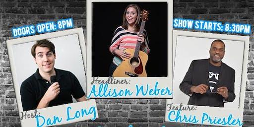Comedy Basement presents Allison Weber on June 29th!