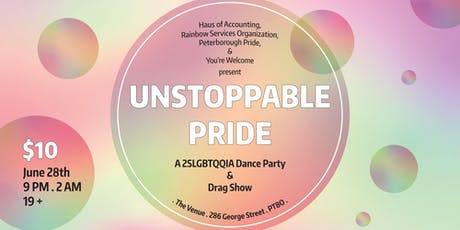 Unstoppable Pride tickets