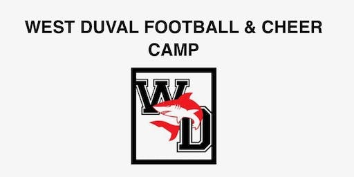 West Duval Football and Cheer Camp
