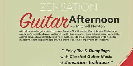 Zensation Guitar Afternoon tickets