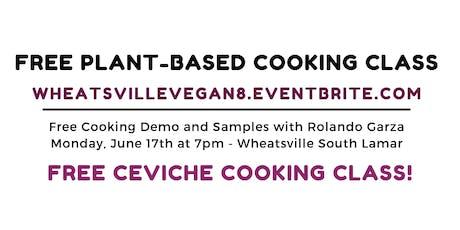 Free Vegan Cooking Class!  tickets